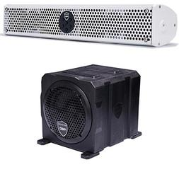 Wet Sounds Stealth Package - White Stealth 6 Ultra 200 Watt