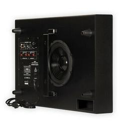 """Theater Solutions SUB8S Home Theater Powered 8"""" Slim Subwoof"""