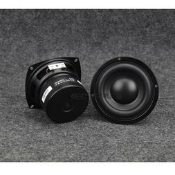 "Subwoofer 4"" inch 4Ω 8Ω Bass Loudspeaker 25W-40W For 2.1 T"