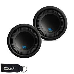 """Alpine Subwoofer Package - Two S-W8D4 S-Series 8"""" Dual 4-Ohm"""