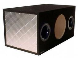 """Subwoofer Box 10"""" Single Ported Enclosure Made in USA"""
