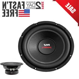 Subwoofer Car audio sub dual 4 ohm new 600 watt box bass woo