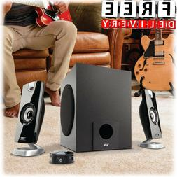 Subwoofer Speaker System 2.1 Home Audio Stereo Bass Sound Ga