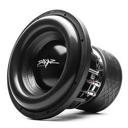 "Skar Audio ZVX-12v2 12"" 1500 Watt RMS Dual 1 Ohm Subwoofer"