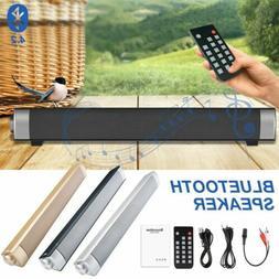 Surround Sound Bar Speaker System Wireless Bluetooth 4.2 Sub