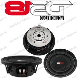 "DS18 SW10S4 10"" Shallow Mount Truck Subwoofer 1000W Max SVC"