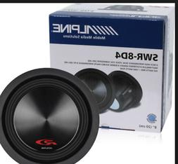 "Alpine SWR-8D4 8"" Car Subwoofer"