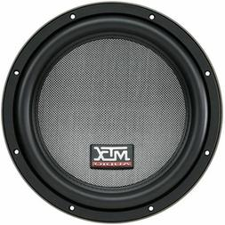 MTX T8000 SERIES T810-44 10 INCH 400W RMS DUAL 4 OHM SUBWOOF