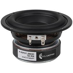 "Dayton Audio TCP115-4 4"" Treated Paper Cone Midbass Woofer 4"
