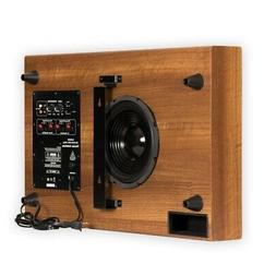 """Theater Solutions SUB8SM Home Theater Powered 8"""" Slim Subwoo"""
