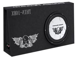 Power Acoustik THIN-10BX Thin 10-Inch Wooferbox and Speaker