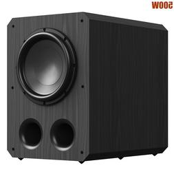 "THX 500W 12"" Active Powered Subwoofer Bass Sub Woofer Home C"