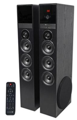 Rockville TM150B Bluetooth Home Theater Tower Speaker System
