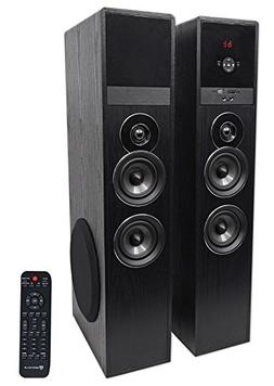 Rockville TM80B Bluetooth Home Theater Tower Speaker System