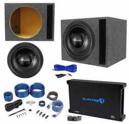 """American Bass TNT-1544 2000w 15"""" Subwoofer+Vented Sub Box+Mo"""