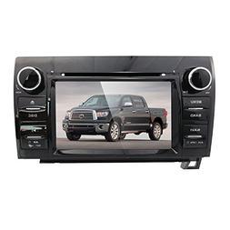 hizpo 7 Inch Digital Touch Screen DVD GPS Navigator Car Ster