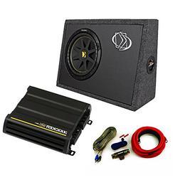 Kicker Truck Bundle with 10TC102 Box + 12CX3001 Amplifier +