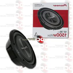 "NEW PIONEER 12"" SINGLE 4 OHM CAR SHALLOW MOUNT SUBWOOFER 1,5"