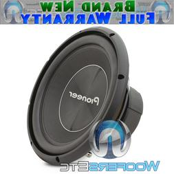 "PIONEER TS-A300D4 12"" SUB 1500W CAR AUDIO DUAL 4-OHM SUBWOOF"