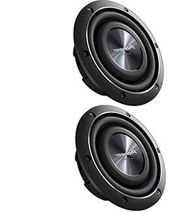 """Pioneer TS-SW2002D2 600 Watts 8/"""" Dual 2 Ohm Shallow Mount Car Truck Subwoofer"""