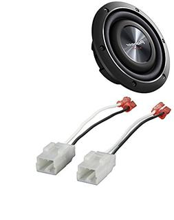 "Pioneer TS-SW2002D2 600 Watts 8"" Dual 2 Ohm Shallow Mount Ca"