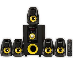 Theater Solutions TS518 Bluetooth Home Theater 5.1 Speaker S