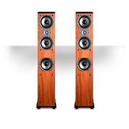 Polk Audio TSi400 4-Way Tower Speakers with Three 5-1/4 Driv