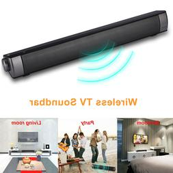 TV Home Theater Soundbar Wireless Sound Bar Speaker System w