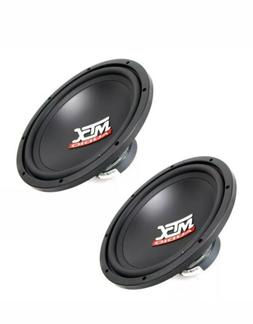 "Two  MTX Audio Car 12"" Terminator Series Single 4 ohm Subwoo"
