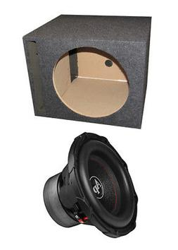 "Audiopipe TXX-BD3-12 12"" 1800W Car Audio Subwoofer + Single"