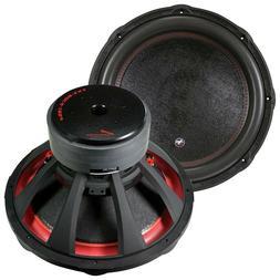 """Audiopipe TXXBDC418 18"""" Quad Stack Subwoofer Dual 4 Ohms 340"""