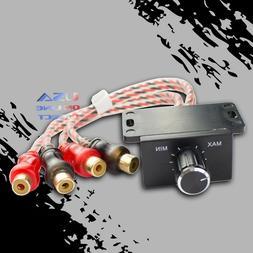 Universal Car Audio Remote Volume Control Knob Amplifier Bas