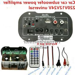 USB High Power Subwoofer Amplifier Board USB Remote Control