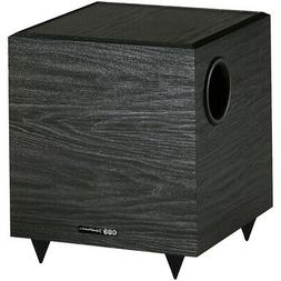 Bic V-80 8In 100 Watt Powered Subwoofer Black Single