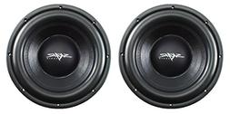 "NEW SKAR AUDIO VD-10 D2 10"" 500W RMS DUAL 2 SHALLOW MOUNT S"
