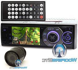 """pkg Soundstream VR-345XB In-Dash 1-DIN 3.4"""" LCD Screen DVD S"""
