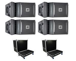 "4x JBL VRX932LAP 1750W Powered Line-Array Speaker 12"" Active"