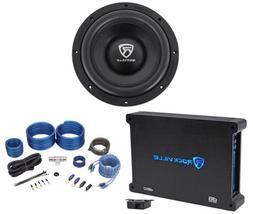 "Rockville W10K6D4 V2 10"" 2000 Watt Car Audio Subwoofer+Mono"