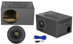 "Rockville W10K9D4 10"" 3200 Watt Car Audio Subwoofer + Vented"