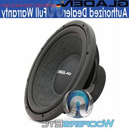 "GLADEN RS12 FREE AIR 12"" 400W RMS 4-OHM SUBWOOFER CLEAN BASS"
