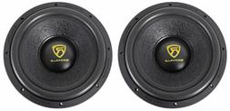 "Rockville W12K9D2 12"" 8000 Watt Car Subwoofers Dual 2-Ohm S"