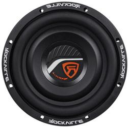 "Rockville W8T4-S2 8"" Shallow Mount 1000 Watt Slim Car Audio"