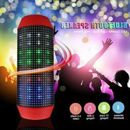 Waterproof Bluetooth Speaker Super Bass Wireless Subwoofer w