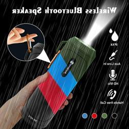 Waterproof Portable Bluetooth 5.0 Speaker Bass Subwoofer Pow