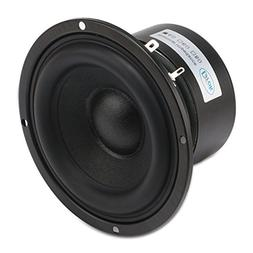 "Drok 4"" 4 Ohm Audio Speakers, 40W AntiMagnetic Car Stereo Ba"