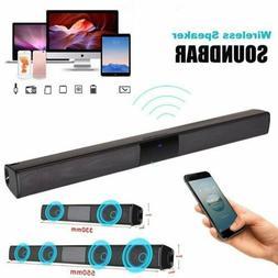 Wireless Bluetooth 4.2 Sound Bar Speaker TV Home Theater Sou