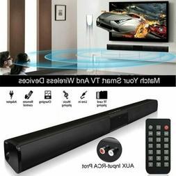 Wireless Bluetooth Soundbar Speaker TV Home Theater Subwoofe