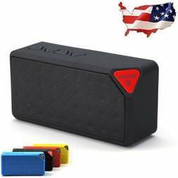 Wireless Bluetooth Speaker Portable Subwoofer Super Bass Ste