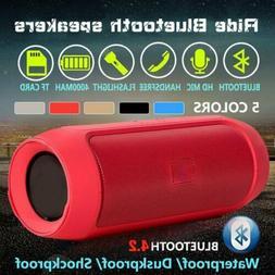 Wireless Bluetooth Speaker Waterproof Outdoor Super Bass FM