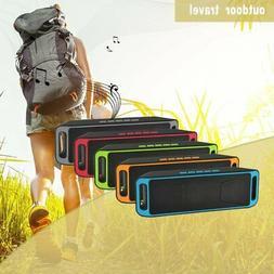 Wireless Outdoor Bluetooth Speaker Dirtproof TF Card Subwoof